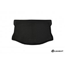 Коврик в багажник TOYOTA Aqua (P10), 2011-2014, х/б, правый руль, 1 шт. (полиуретан)