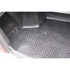 Коврик в багажник TOYOTA Mark 2 GX110 2000-2004 (полиуретан) длин., П.Р. сед.